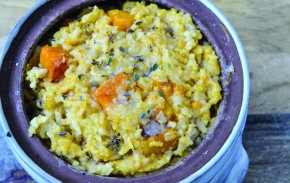 Roasted Square Risotto