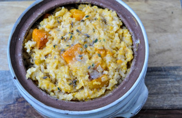 Roasted Squash Risotto