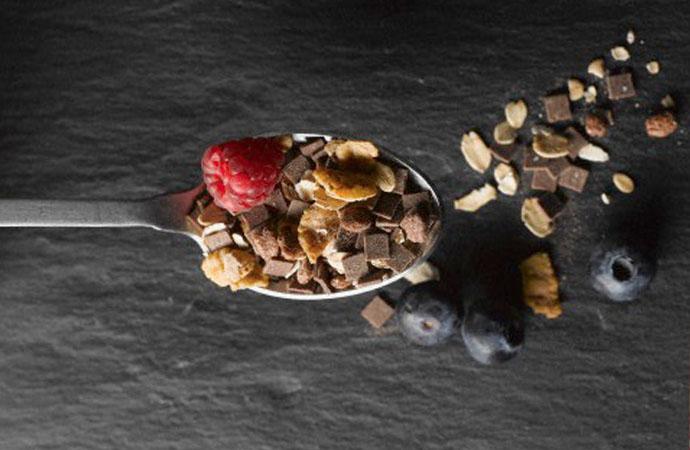 spoonful of granola